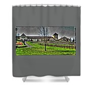 King Estate Winery Shower Curtain