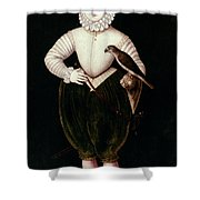King James I Of England Shower Curtain