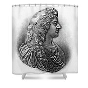 King James II Of England (1633-1701) Shower Curtain