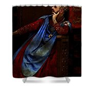King John Ponders The Magna Carta Shower Curtain