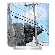 King Kong Shower Curtain