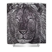 King Of Beasts Shower Curtain