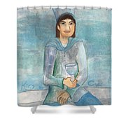 King Of Cups Shower Curtain