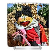 King Of Hearts Scarecrow By Diana Sainz Shower Curtain