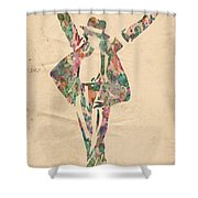 King Of Pop In Concert No 11 Shower Curtain