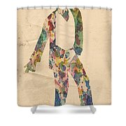 King Of Pop In Concert No 14 Shower Curtain