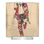 King Of Pop In Concert No 3 Shower Curtain