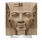 King Ramses II  Shower Curtain