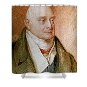 King William Iv Of England (1765-1837) Shower Curtain
