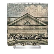 Kings And Kingdoms Shower Curtain