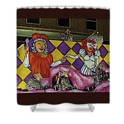 Kings And Queens Shower Curtain
