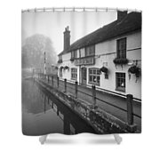Kings Arms Shower Curtain
