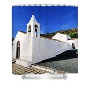 Kings' Chapel On Hierro Shower Curtain