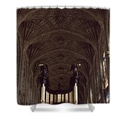 King's College Chapel Shower Curtain