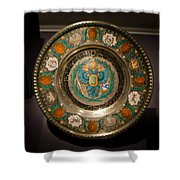 King's Plate Shower Curtain