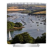 Kingsbridge Estuary Devon Shower Curtain