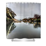 Kingsbridge Reflections  Shower Curtain