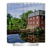Kingston Mill Near Princeton New Jersey Shower Curtain