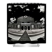 Kinnick Stadium Shower Curtain