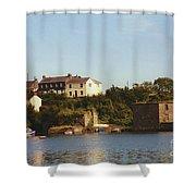 Kinsale Waterfront Shower Curtain
