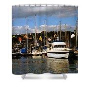 Kinsale Yacht Club Shower Curtain