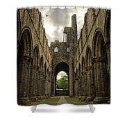 Kirkstall Abbey Shower Curtain