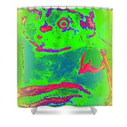 You Can Kiss The Frog If You Want To  Shower Curtain