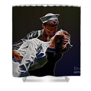 Kiss Shower Curtain