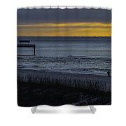 Kisses At Sunrise Shower Curtain