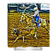 Kissimmee Roper Shower Curtain