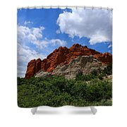 Kissing Camels - Garden Of The Gods Shower Curtain