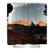Kissing Camels 11344 Shower Curtain