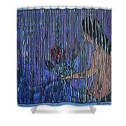 Kissing Rain Shower Curtain