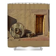 Kit Carson Home Taos New Mexico Shower Curtain