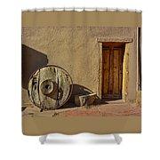 Kit Carson Home Taos New Mexico Shower Curtain
