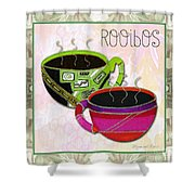 Kitchen Cuisine Rooibos Tea Party By Romi And Megan Shower Curtain