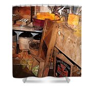 Kitchen - Food - Meat - Cheese - Eggs Shower Curtain