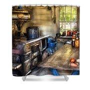 Kitchen - Home Country Kitchen  Shower Curtain