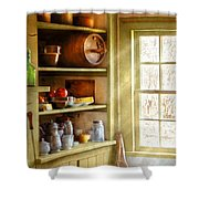Kitchen - Kitchen Necessities Shower Curtain by Mike Savad