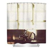 Kitchen Sink Shower Curtain by Margie Hurwich