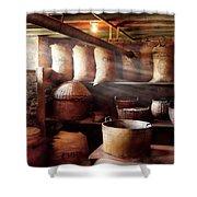 Kitchen - Storage - The Grain Cellar  Shower Curtain