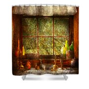 Kitchen - Table Setting Shower Curtain