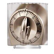 Kitchen Timer Shower Curtain