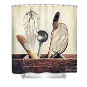 Kitchenware Shower Curtain