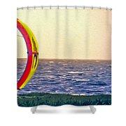 Kite Boarder 2 Shower Curtain