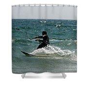 Kite Boarding Fun  Shower Curtain