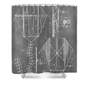 Kite Patent Shower Curtain