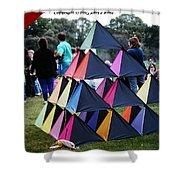 Kite Show Shower Curtain