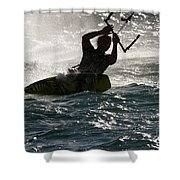 Kite Surfer 02 Shower Curtain