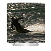 Kite Surfer 03 Shower Curtain